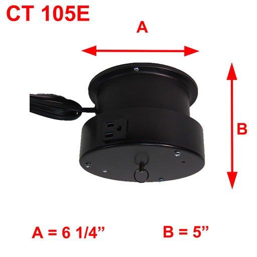 CT 105E DIMENSIONS