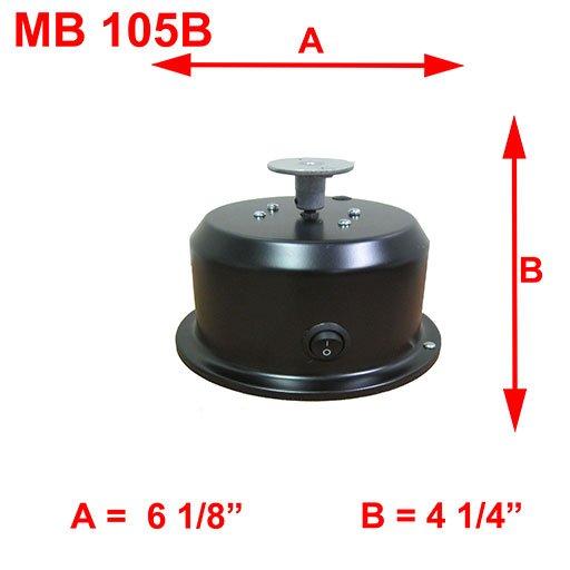 MB 105B DIMESNIONS