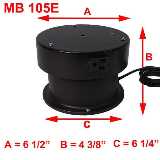 MB 105E DIMENSIONS