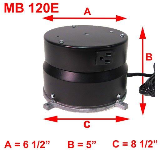 MB 120E DIMENSIONS