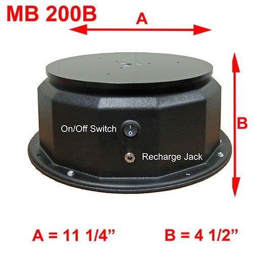 MB 200B DIMENSIONS