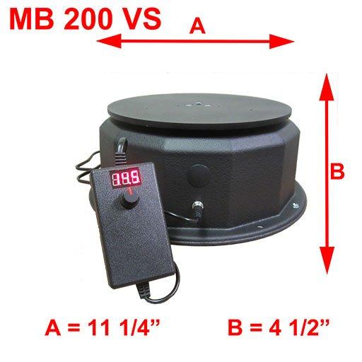 MB 200vs Dimensions